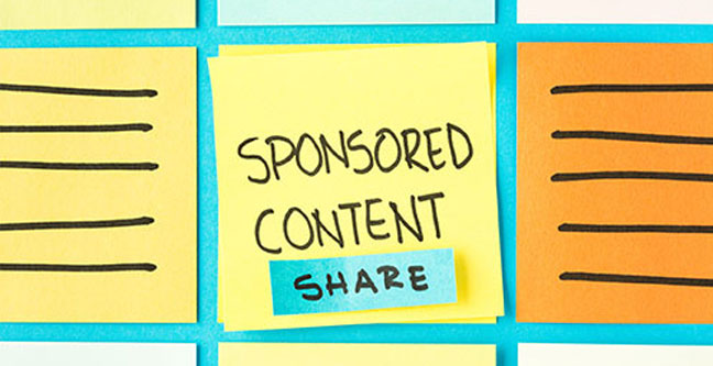 sponsored content graphic