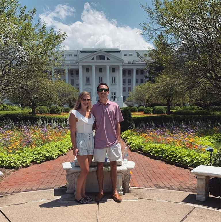 Carson at the Greenbrier