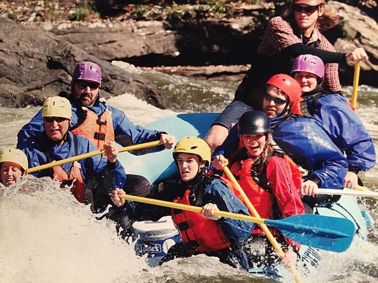 Ted Rafting