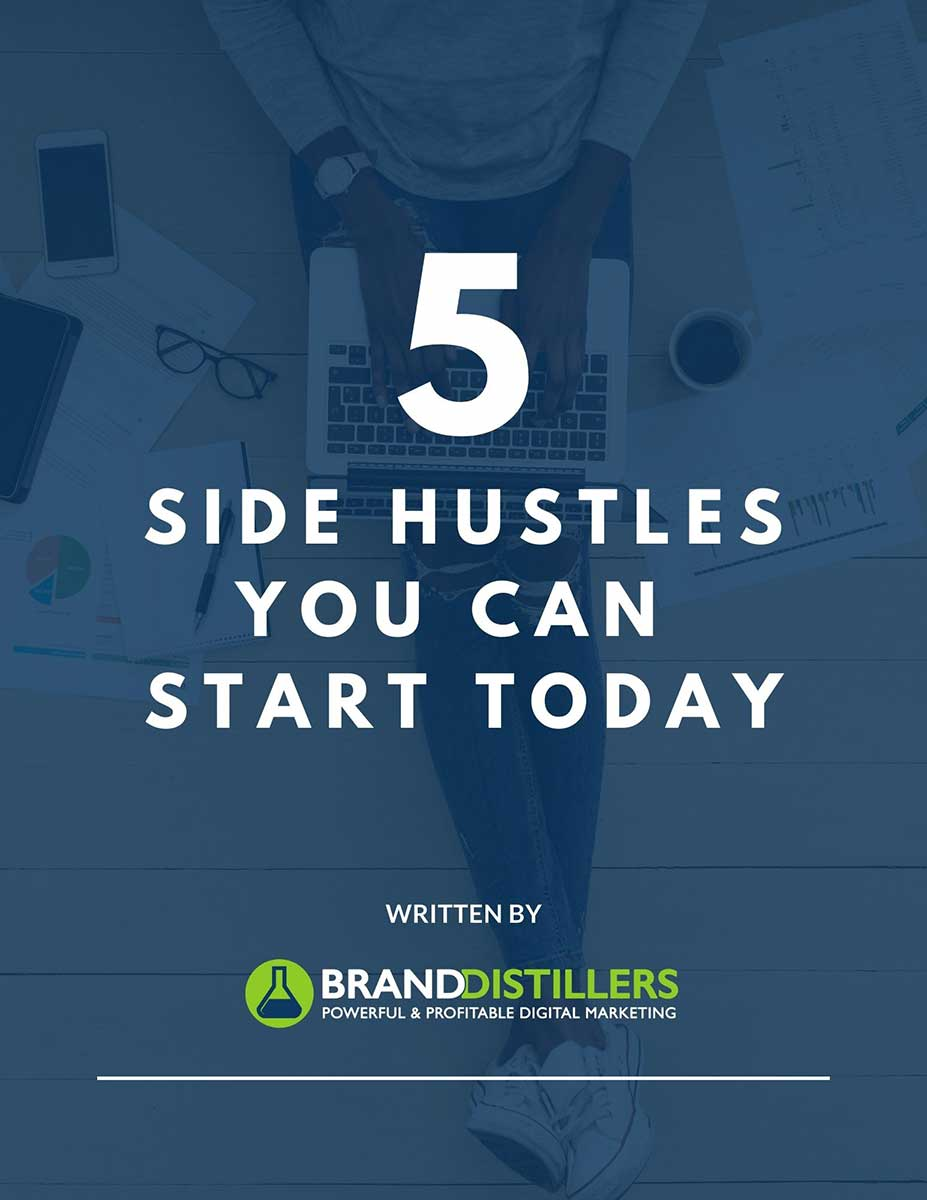 Side hustles ebook cover
